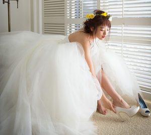 天使のようなふわふわチュールドレス.。.:*♡