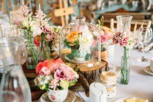 まるでお花屋さん˖*⋆。『FLOWER WEDDING』ってステキ♡