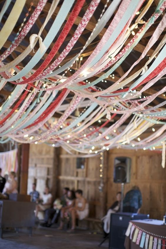 colorful-ribbon-canopy-ceiling-decor