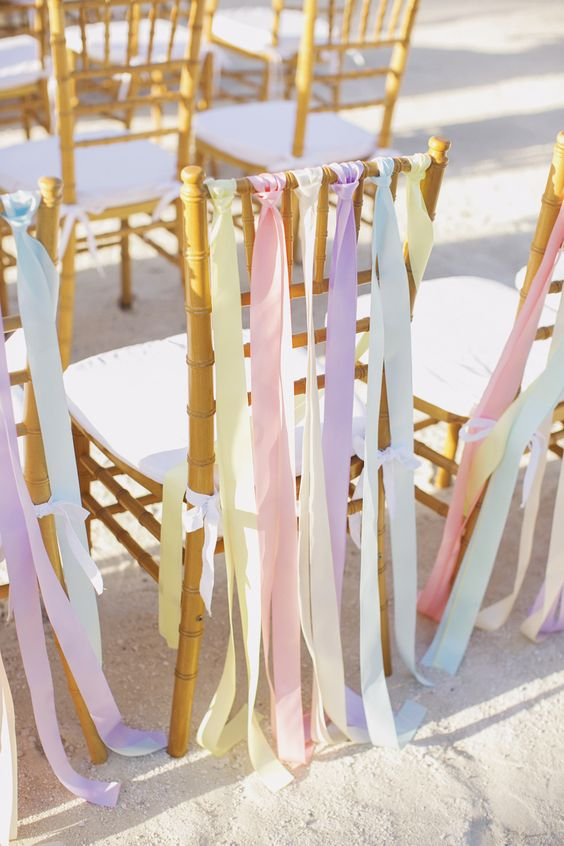 pastel-wedding-chair-ribbons