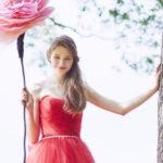 秋冬人気カラーのレッドカラー♡可愛く華やかに着こなすおすすめドレス**