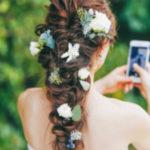 リゾートウェディングの花嫁様必見*リゾートに似合うウェディングヘア特集♩