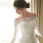 やっぱりレースのドレスが気になる♡花嫁さまを美しく輝かせてくれるレースドレスコーディネート**