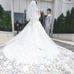 💓👰 Dressy花嫁公認レポーター .➳♡゛【@k.k.wedding0729】さん のウェディングレポをご覧あれ(*˘︶˘*).。.:*♡