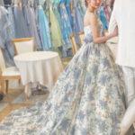 ISAMU MORITA〈イサムモリタ〉のウェディングカラードレスが素敵すぎる⑅花嫁さまの試着レポを参考に❁*