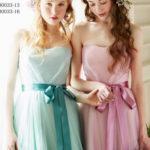 カラーチュールでお色直しを華やかに♡カラー別おすすめウェディングドレス特集**♩