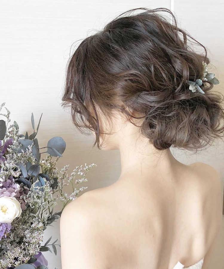ミディアムヘア Dressy ドレシー ウェディングドレスの人気