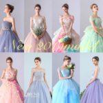 2019年プレ花嫁様におすすめ♡YNS WEDDINGから新作カラードレスコレクションをご紹介✧