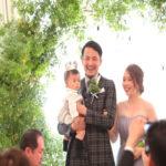 【お子さんと一緒に結婚式♪】ウェディングレポートでご紹介♡