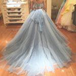 ブルーのカラードレスが素敵✧プレ花嫁さまの試着レポをご紹介♡