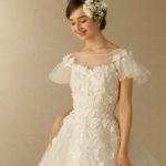 【2019年春夏】TAKAMI BRIDALの新作ウェディングドレスはお袖スタイルが可愛い♡