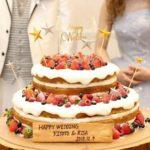 星がテーマ☆オリジナルウェディングケーキを楽しみましょ✧✧