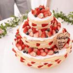 【名古屋花嫁必見*】オリジナルウェディングケーキが人気の会場5選✧