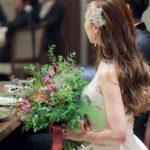 ラフでエレガントな印象に…♡大人花嫁さま必見のダウンスタイルまとめ*