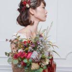 結婚式の花嫁ヘア[ 2019年最新版 ]大人かわいいヘアスタイル別アレンジまとめ♡