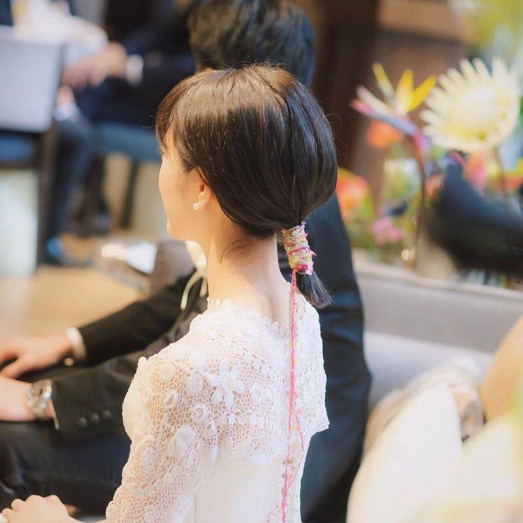 花嫁さんの髪型 やりたいが見つかる 長さ別 最新版ヘアカタログ27選