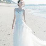 自分らしいおしゃれなコーディネートを楽しめる♡ドレスベネデッタの2020s/s新作ウェディングドレスが気になる**♩