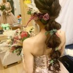 おしゃれ花嫁さまが大注目!【玉ねぎヘア】が大流行中♡♥