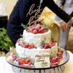 【オシャレWeddingに欠かせない*】ウェディングケーキをさらに可愛く♡ケーキトッパーでオリジナリティを出して*