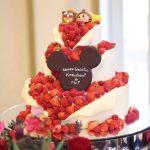ロマンチックな【美女と野獣☆】のウエディングケーキがおしゃれすぎる♡*