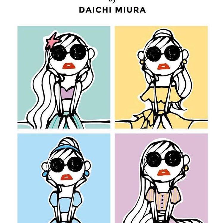 ファッションディレクターdaichi Miuraさんとディズニープリンセスのコラボグッズ Dressy ドレシー Byプラコレウェディング