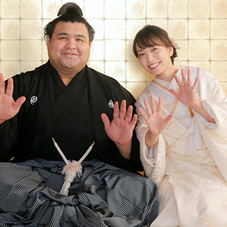 相撲 高安 結婚